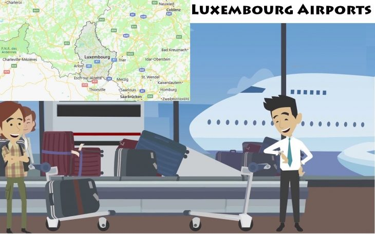 Airports in Luxembourg