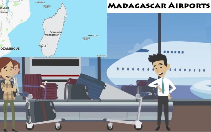 Airports in Madagascar