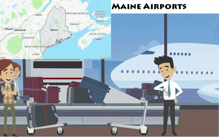 Airports in Maine