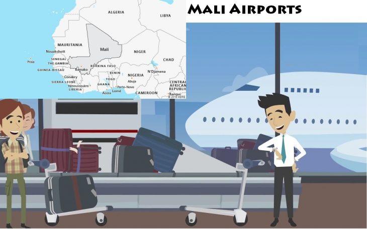 Airports in Mali