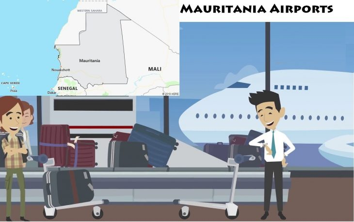 Airports in Mauritania