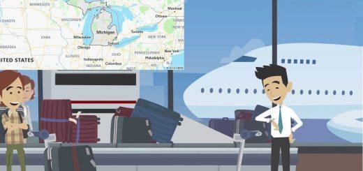 Airports in Michigan