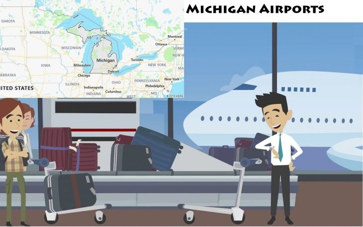 Airports in Michigan