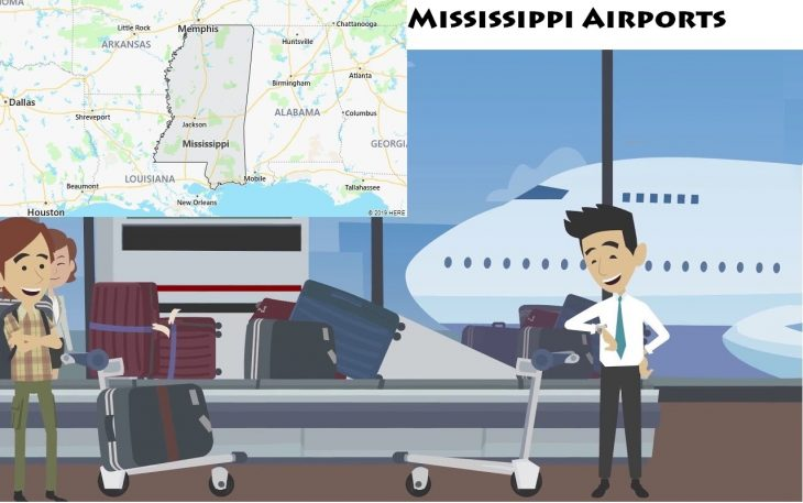 Airports in Mississippi