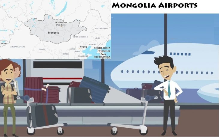 Airports in Mongolia