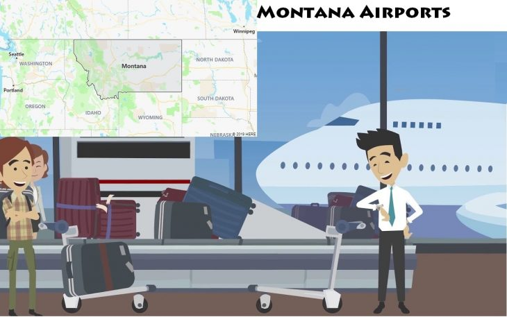 Airports in Montana