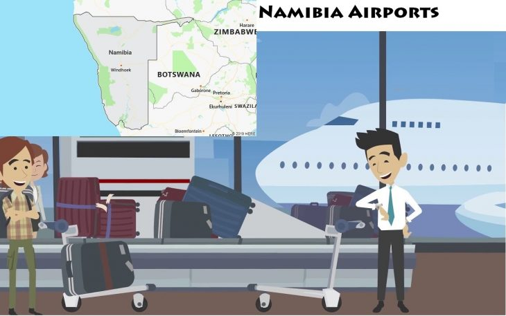 Airports in Namibia