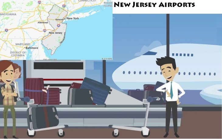 Airports in New Jersey