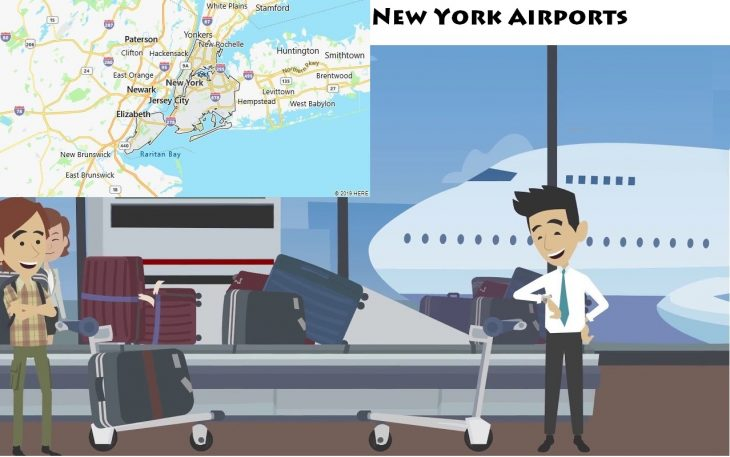 Airports in New York