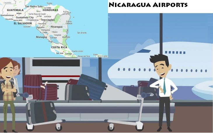 Airports in Nicaragua