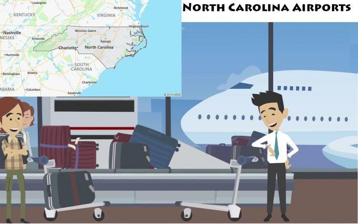 Airports in North Carolina