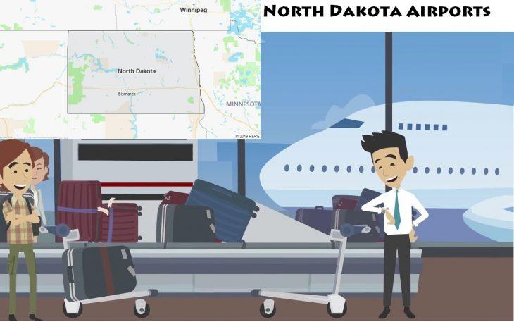 Airports in North Dakota