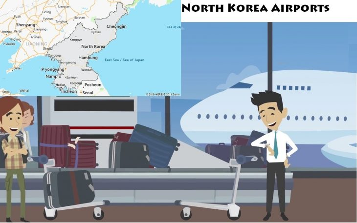 Airports in North Korea