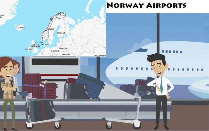 Airports in Norway