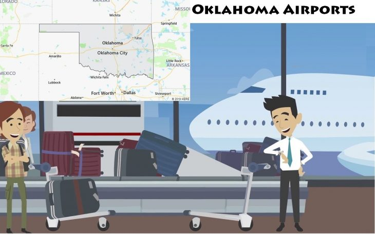 Airports in Oklahoma