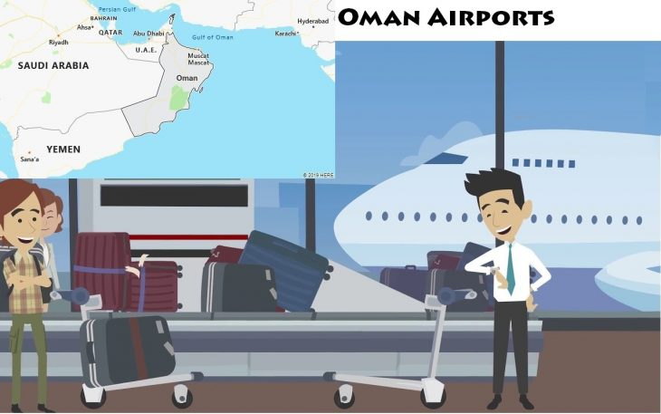 Airports in Oman