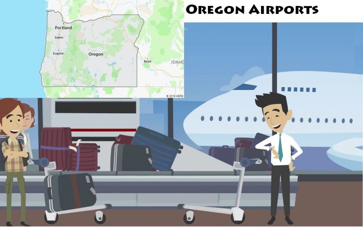 Airports in Oregon