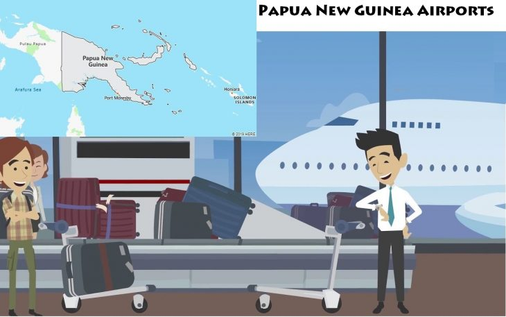 Airports in Papua New Guinea