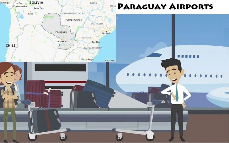 Airports in Paraguay