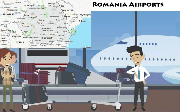 Airports in Romania
