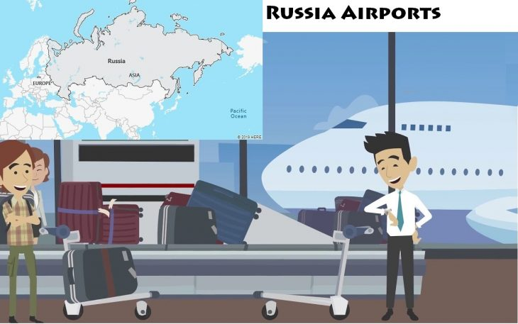 Airports in Russia