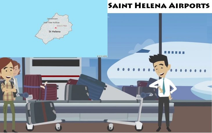 Airports in Saint Helena