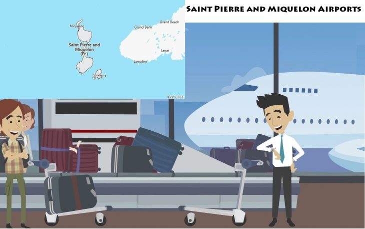 Airports in Saint Pierre and Miquelon