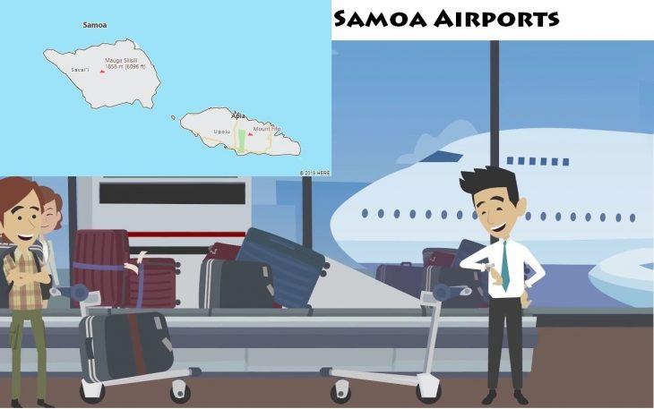 Airports in Samoa