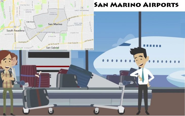 Airports in San Marino