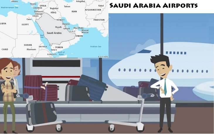 Airports in Saudi Arabia
