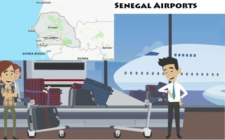 Airports in Senegal