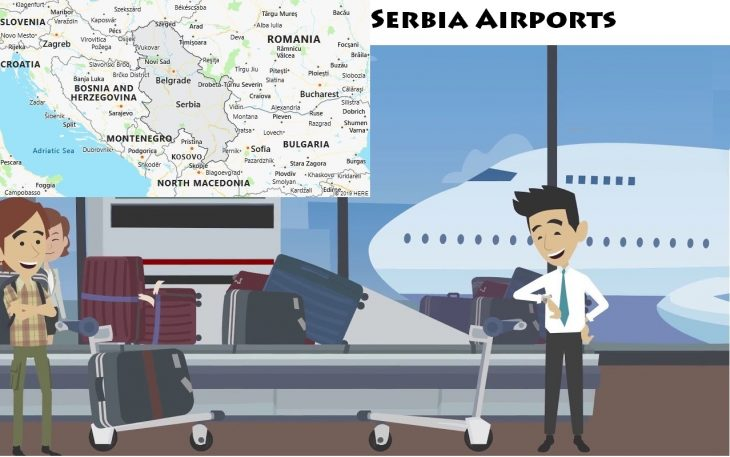 Airports in Serbia