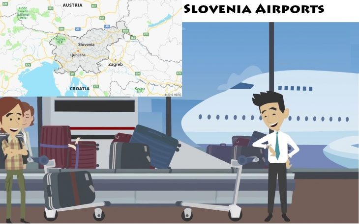 Airports in Slovenia