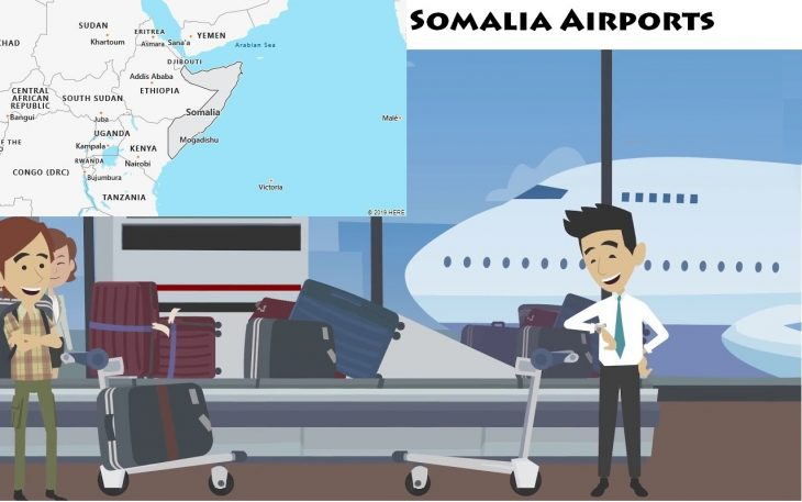 Airports in Somalia