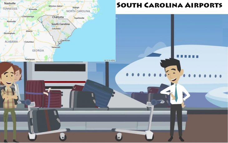 Airports in South Carolina
