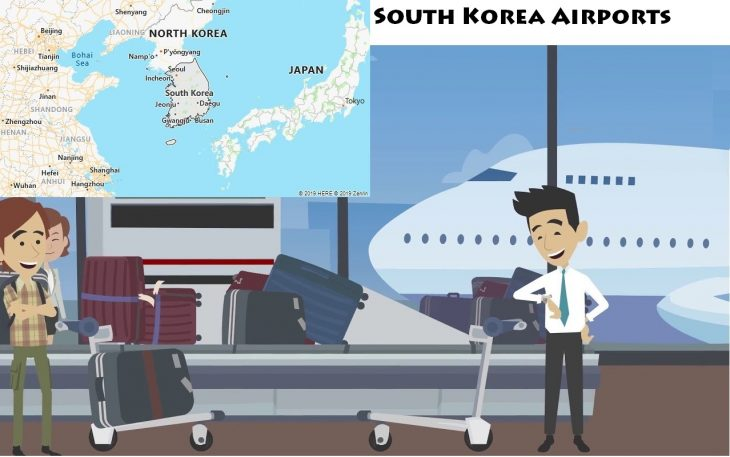 Airports in South Korea