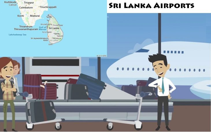 Airports in Sri Lanka