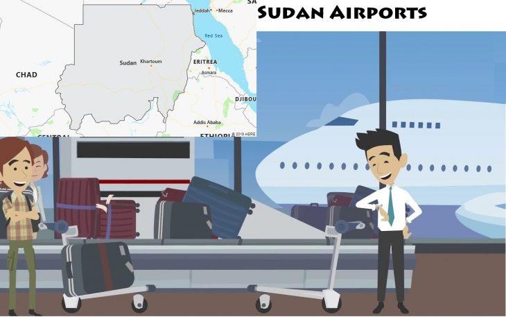 Airports in Sudan