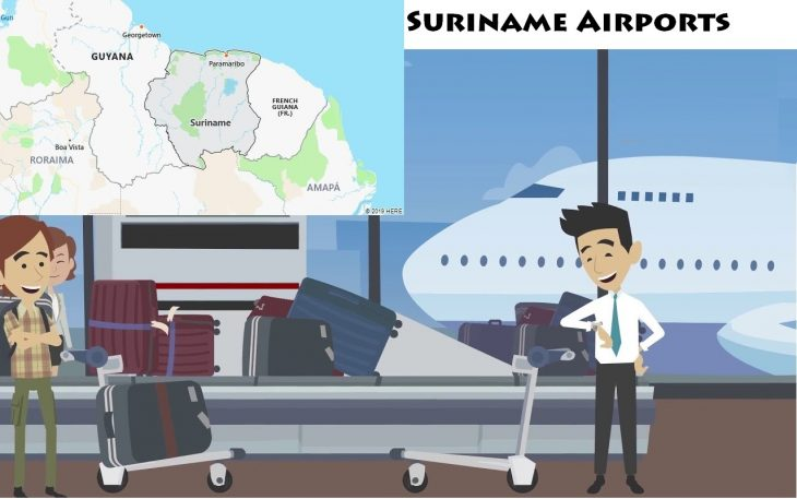 Airports in Suriname