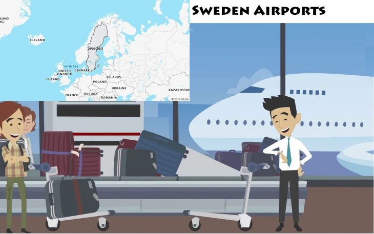 Airports in Sweden