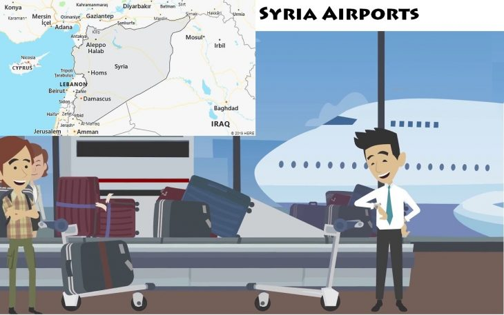 Airports in Syria