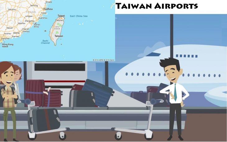 Airports in Taiwan