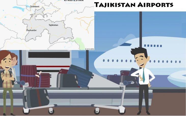 Airports in Tajikistan