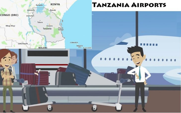 Airports in Tanzania