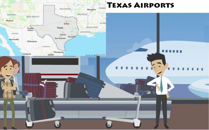 Airports in Texas