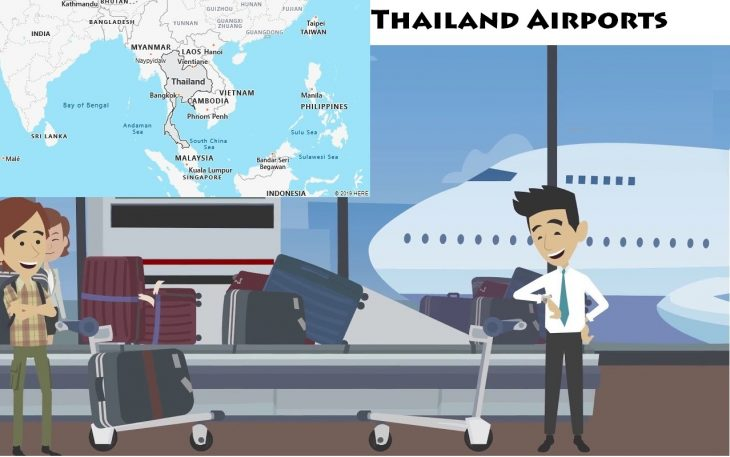 Airports in Thailand