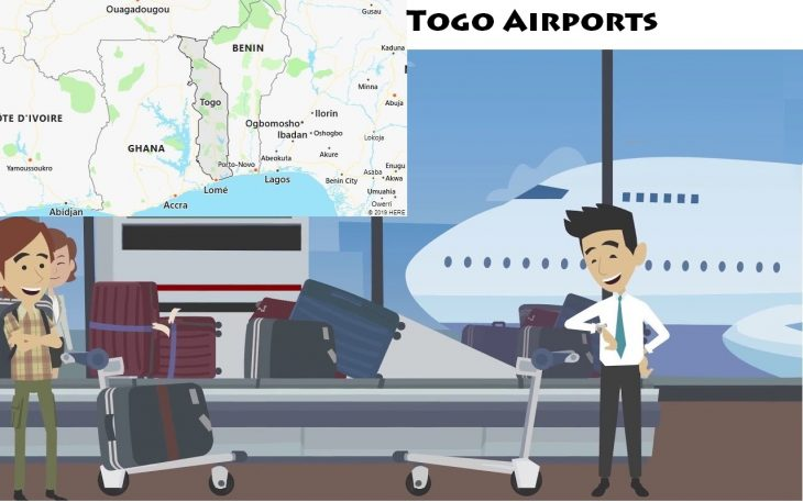 Airports in Togo
