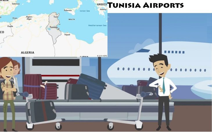 Airports in Tunisia