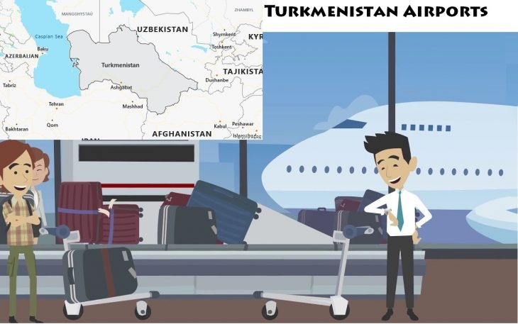 Airports in Turkmenistan