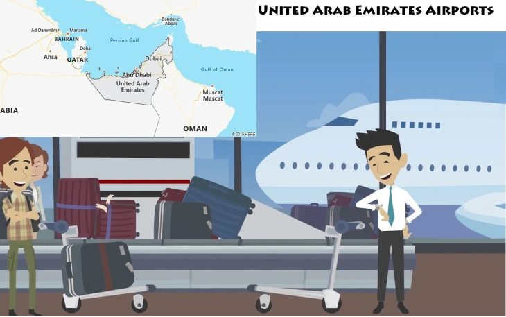 Airports in United Arab Emirates